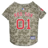 MLB Boston Red Sox Large Camo Pet Jersey
