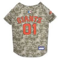 MLB San Francisco Giants Medium Camo Pet Jersey