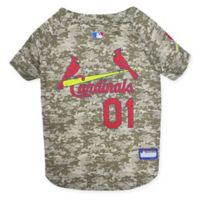 MLB St. Louis Cardinals Medium Camo Pet Jersey