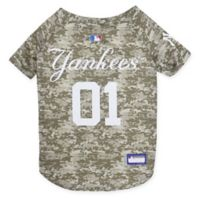 MLB New York Yankees Large Camo Pet Jersey