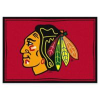 NHL Chicago Blackhawks 2-Foot 8-Inch x 3-Foot 10-Inch Spirit Accent Rug