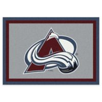NHL Colorado Avalanche 2-Foot 8-Inch x 3-Foot 10-Inch Spirit Accent Rug