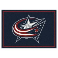 NHL Columbus Bluejackets 2-Foot 8-Inch x 3-Foot 10-Inch Spirit Accent Rug