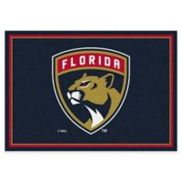 NHL Florida Panthers 5-Foot 4-Inch x 7-Foot 8-Inch Spirit Area Rug