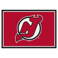 NHL New Jersey Devils 2-Foot 8-Inch x 3-Foot 10-Inch Spirit Accent Rug