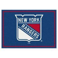 NHL New York Rangers 2-Foot 8-Inch x 3-Foot 10-Inch Spirit Accent Rug