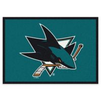 NHL San Jose Sharks 2-Foot 8-Inch x 3-Foot 10-Inch Spirit Accent Rug