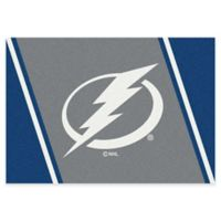 NHL Tampa Bay Lightning 5-Foot 4-Inch x 7-Foot 8-Inch Spirit Area Rug