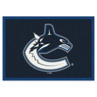 NHL Vancouver Canucks 2-Foot 8-Inch x 3-Foot 10-Inch Spirit Accent Rug