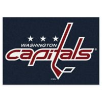 NHL Washington Capitals 2-Foot 8-Inch x 3-Foot 10-Inch Spirit Accent Rug