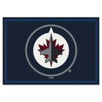 NHL Winnipeg Jets 2-Foot 8-Inch x 3-Foot 10-Inch Spirit Accent Rug