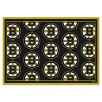 Milliken NHL Boston Bruins Repeat 3-Foot 10-Inch x 5-Foot 4-Inch Area Rug