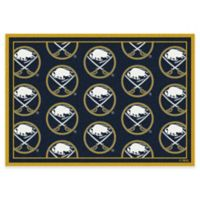 Milliken NHL Buffalo Sabres Repeat 3-Foot 10-Inch x 5-Foot 4-Inch Area Rug