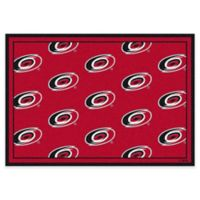 NHL Carolina Hurricanes Repeat 3-Foot 10-Inch x 5-Foot 4-Inch Area Rug