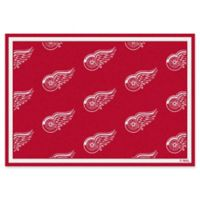 Milliken NHL Detroit Red Wings Repeat 2-Foot 1-Inch x 7-Foot 8-Inch Area Rug