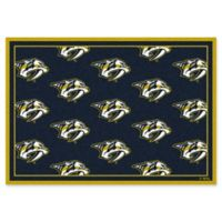 NHL Nashville Predators 2-Foot 1-Inch x 7-Foot 8-Inch Repeat Rug