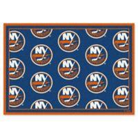 NHL New York Islanders 2-Foot 1-Inch x 7-Foot 8-Inch Repeat Rug