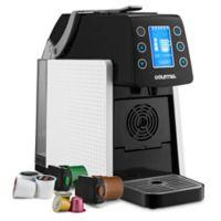 Gourmia® 1-Touch K-Cup Espresso/Coffee Capsule Machine in White