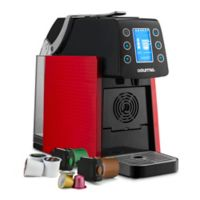 Gourmia® 1-Touch K-Cup Espresso/Coffee Capsule Machine in Red