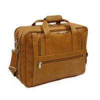 Piel® Leather Ultra Compact 15-Inch Computer Bag in Saddle