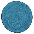 Martini Round Placemat in Deep Sea