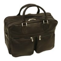 Piel® Leather Classic Checkpoint-Friendly Briefcase/Overnighter in Chocolate