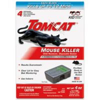 Tomcat® 4-Pack Tier 3 Disposable Mouse Bait Station
