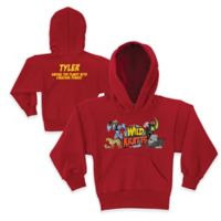 """Wild Kratts™ """"Saving the Planet"""" Size 6/8 Pullover Hoodie in Red"""
