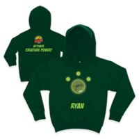 Wild Kratts™ Kangaroo Size 10/12 Pullover Hoodie in Forest Green