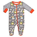 Boppy® Newborn Animals Footie in Grey