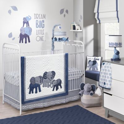 Crib Bedding Sets Lambs Ivy Elephant 3 Piece Set In