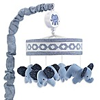Lambs & Ivy® Elephant Animal Musical Mobile in Indigo