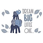 "Lambs & Ivy® Elephant ""Dream Big Little One"" Wall Decals (Set of 4)"