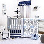 The Peanut Shell® Little Peanut 4-Piece Crib Bedding Set in Navy