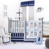 The Peanut Shell® Little Peanut 4-Piece Crib Bedding Set in Navy