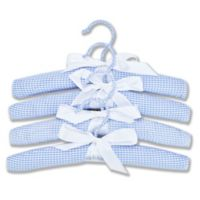 Trend Lab® 4-Pack Children's Hangers in Blue
