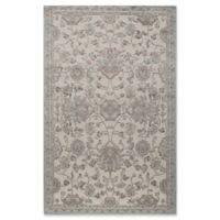 Rugs America Riviera Oriental 2-Foot 2-Inch x 8-Foot Runner in Light Blue