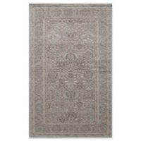 Rugs America Riviera Detailed Traditional 2-Foot 7-Inch x 4-Foot 11-Inch Accent Rug in Light Blue