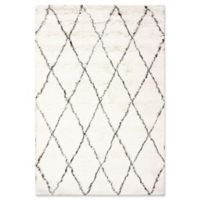 Marrakech Urbanized Handmade 10-Foot x 14-Foot Shag Area Rug in Ivory