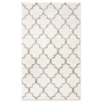 Caspian Park Avenue Trellis 10-Foot x 14-Foot Area Rug in Nickel