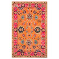 Nuloom Remade Montesque 4-Foot x 6-Foot Area Rug in Orange