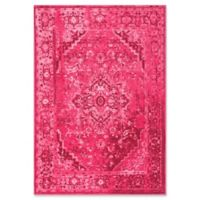 Giza Vintage Reiko 4-Foot 3-Inch x 6-Foot Area Rug in Pink