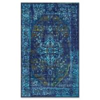 Giza Vintage Reiko 4-Foot 3-Inch x 6-Foot Area Rug in Blue