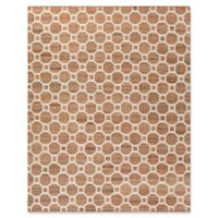 Surya Aere Natural 8-Foot x 10-Foot Area Rug in White