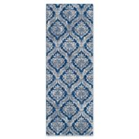 Surya Fenalun 2-Foot 6-Inch x 7-Foot 3-Inch Runner Rug in Dark Blue