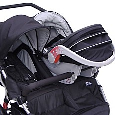 Tike Tech® CityX3 Swivel Twin Stroller - Black - buybuy BABY