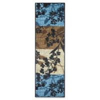 Modern Living 1-Foot 8-Inch x 5-Foot Tulips Textured Accent Rug in Blue/Brown