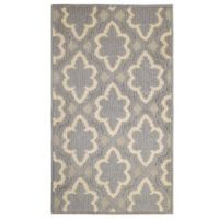 Jean Pierra Dashi Loop 1-Foot 8-Inch x 2-Foot 10-Inch Accent Rug in Grey/Barber