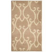 Jean Pierre Donnie Loop 1-Foot 8-Inch x 2-Foot 10-Inch Accent Rug in Linen/Berber