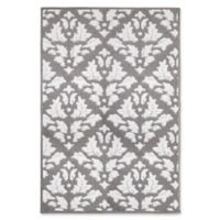 Jean Pierre Mira Loop 2-Foot 4-Inch x 4-Foot Accent Rug in Grey/Soft White